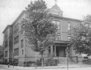 Exterior of St Mary's School